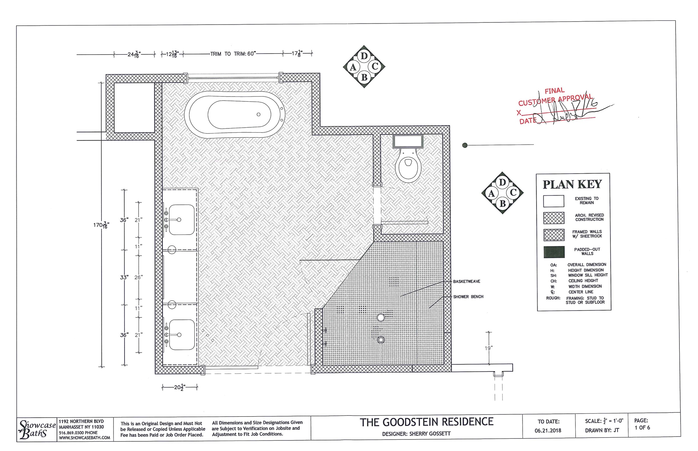 DESIGN SERVICES - Services may include floor plans, elevations and 3D renderings