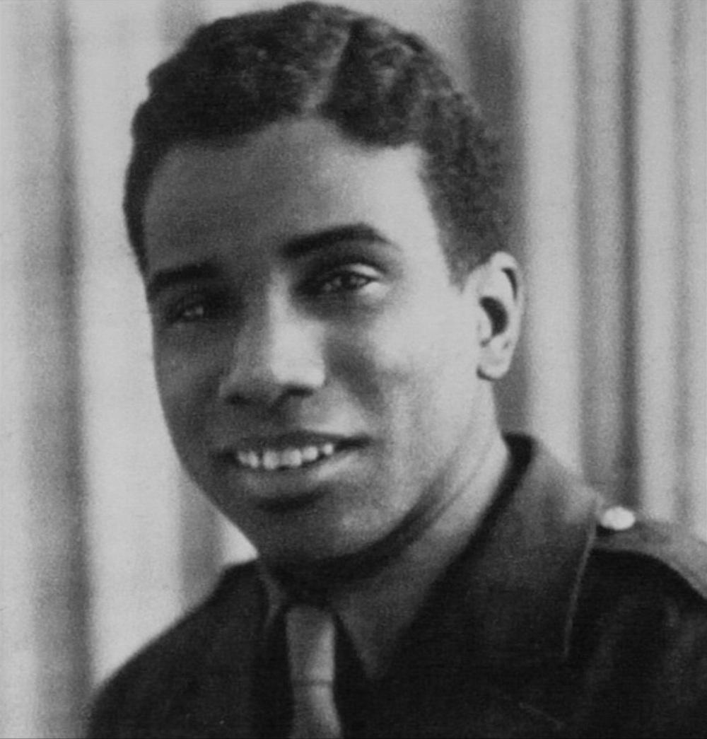 Ashley Bryan, US Army Tech Sergeant, 1943