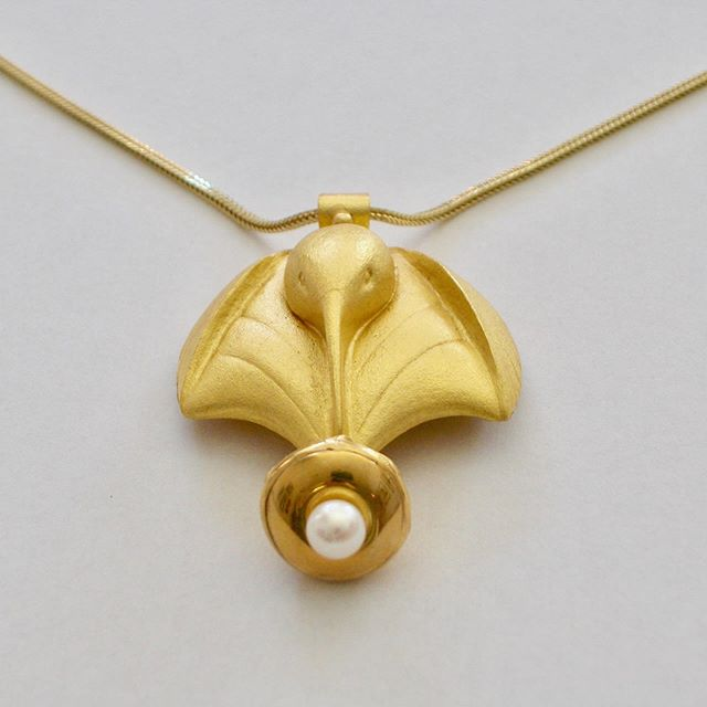 Happy Mother's Day to all. Stop in and see the new pieces Henry has been working on.  22k gold chasing and repousse hummingbird pendant. No one does it better.