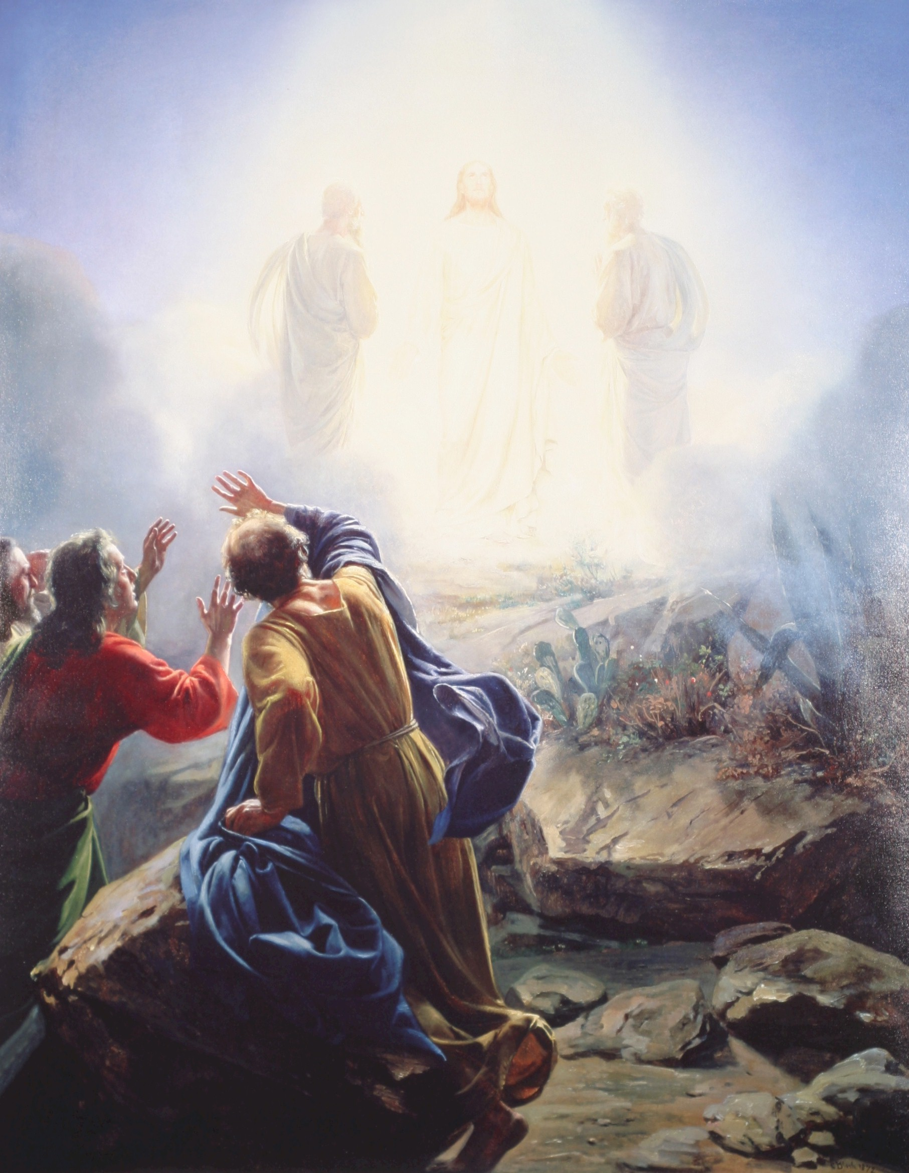 The Transfiguration by  Karl Henrich Bloch
