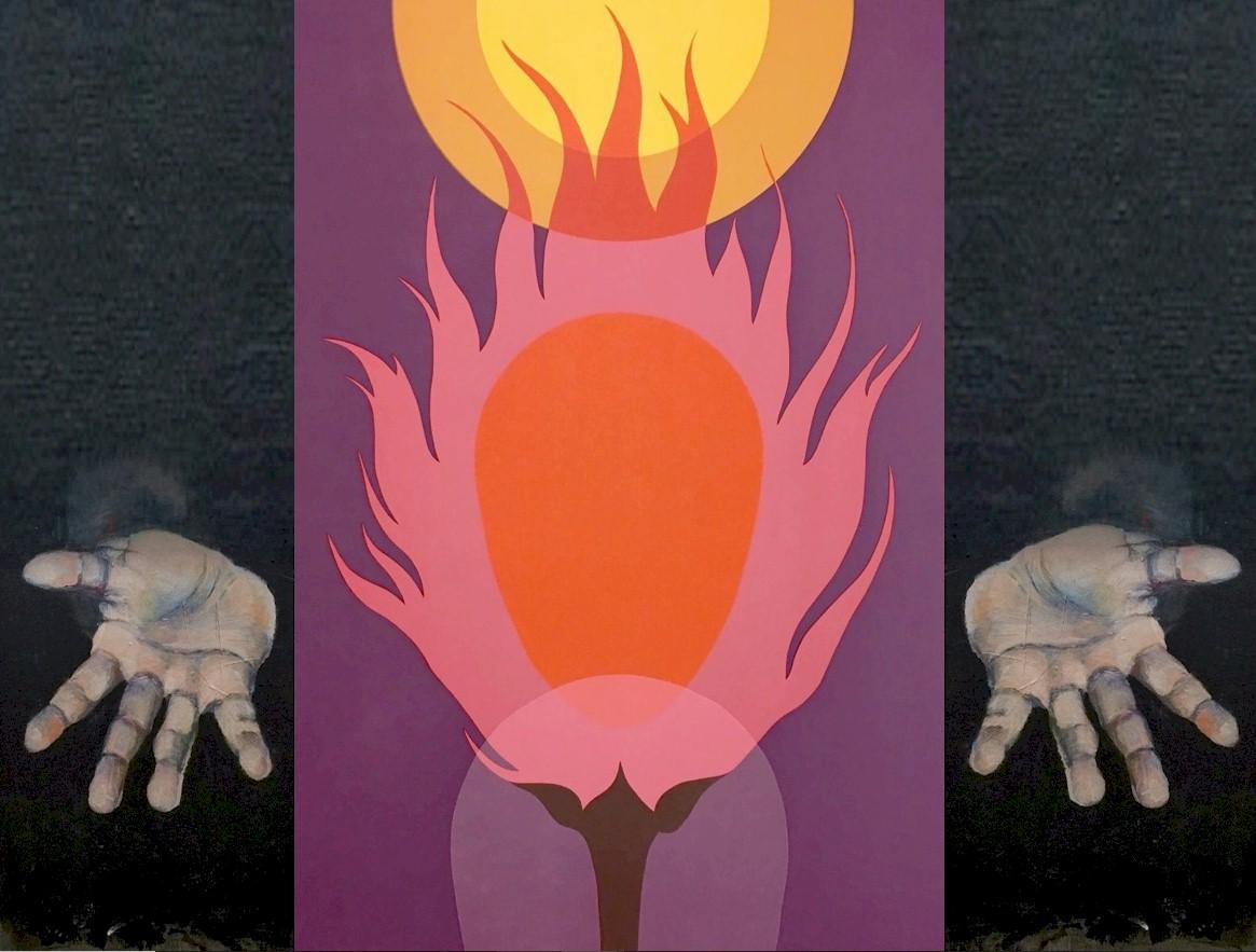 """""""I AM""""  Burning Bush image by Clarence Carter"""