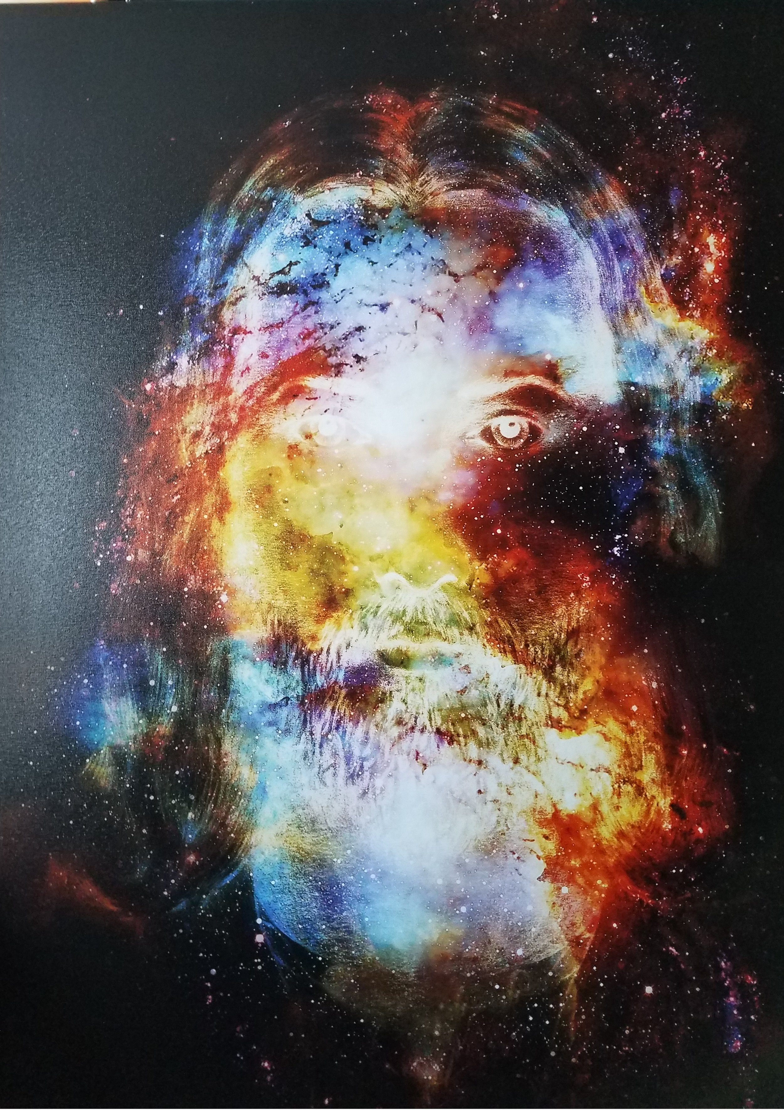 Cosmic Christ — Energy of Light in Cosmic Space   by Jozef Klopacka