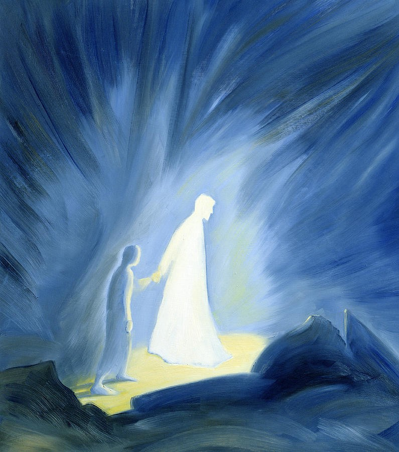 Even In The Darkness Of Our Sufferings Jesus Is Close To Us  by Elizabeth Wang
