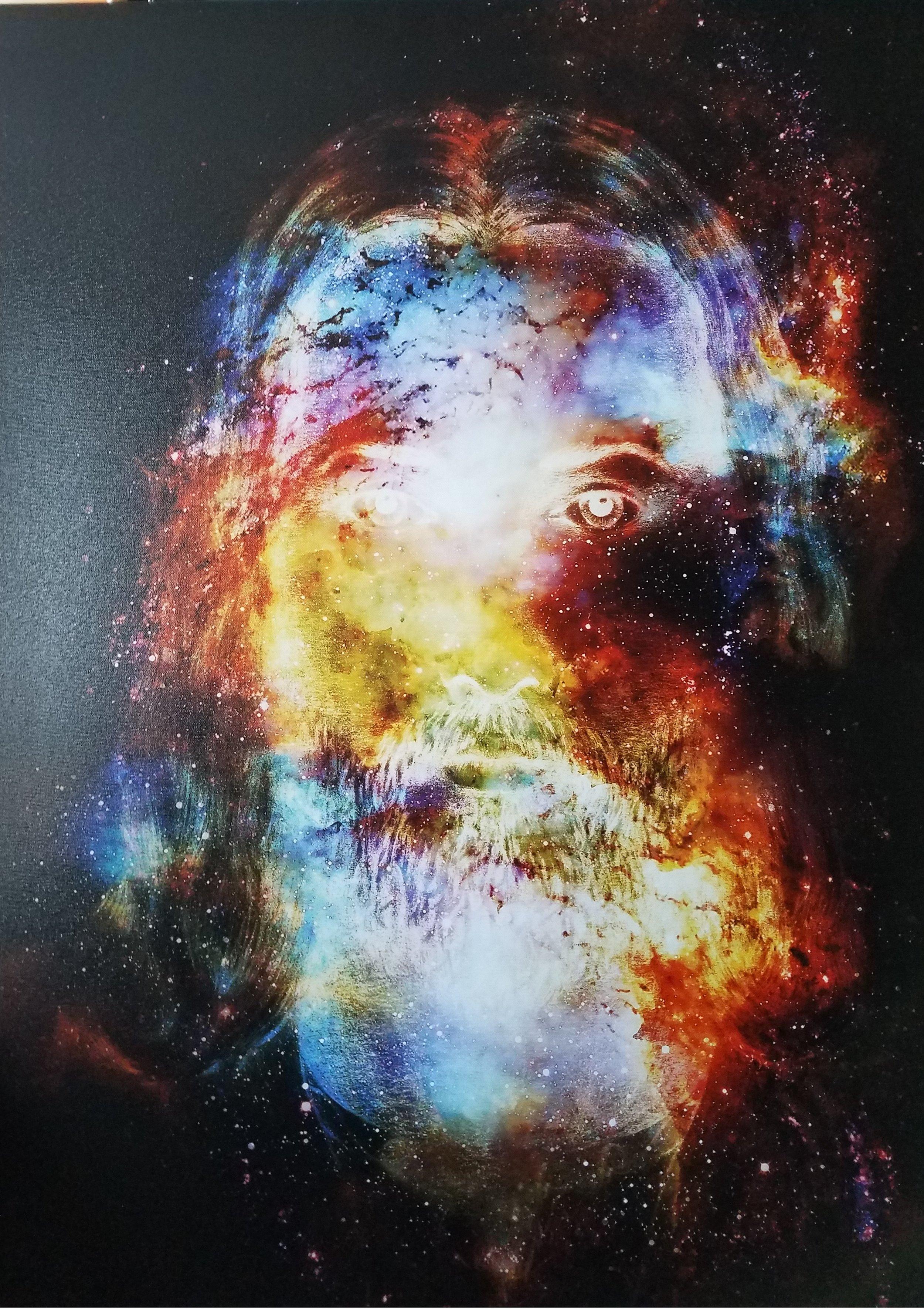 Cosmic Christ by Jozef Klopacka