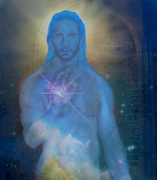 Cosmic Christ by John Lenz