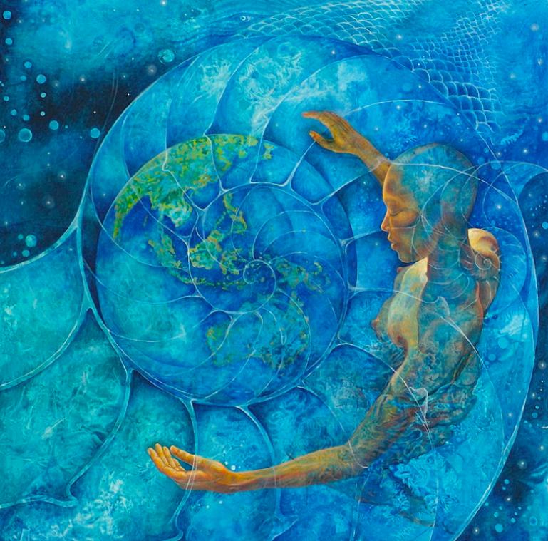 Cosmic Embrace by Melina del Mar