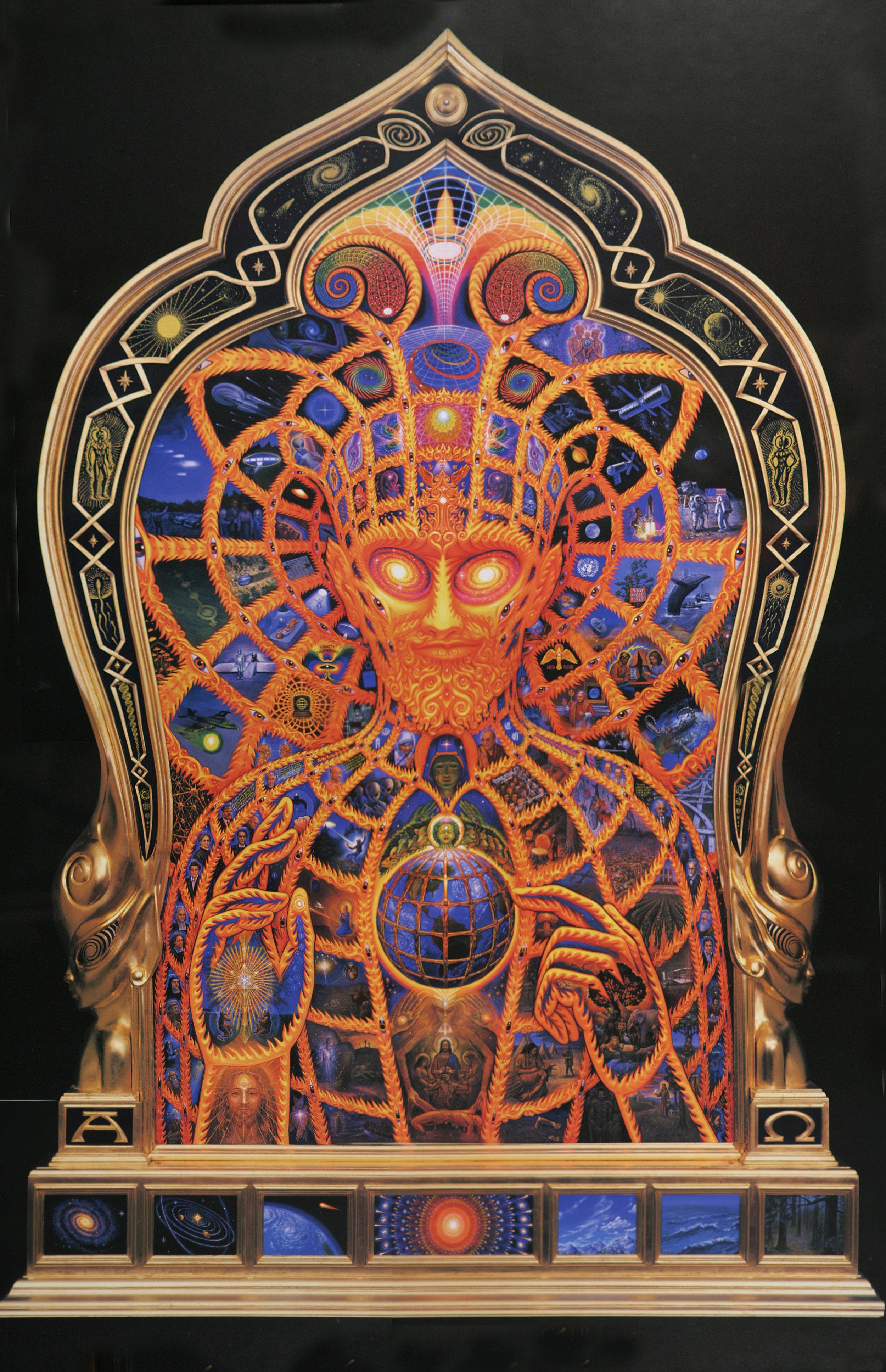 Cosmic Christ by Alex Grey   https://www.alexgrey.com/art/paintings/soul/alex_grey_cosmic_christ-2