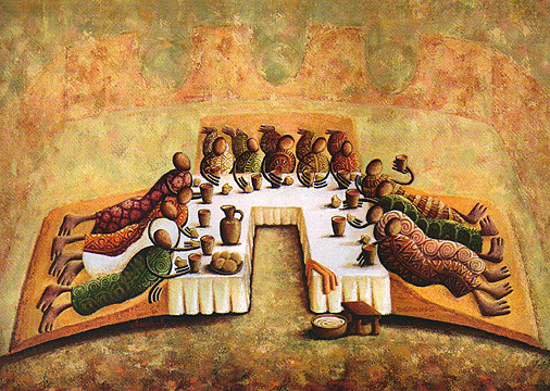 The Last Supper – Okaybabs