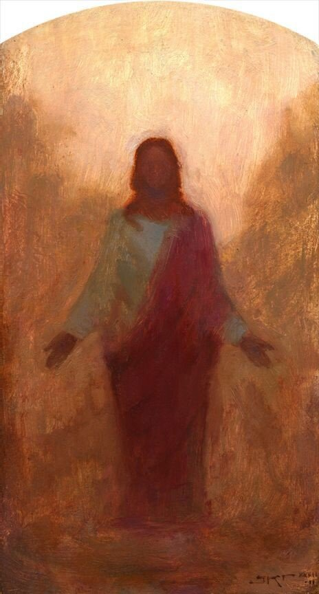 The Living Jesus  by Kirk Richards