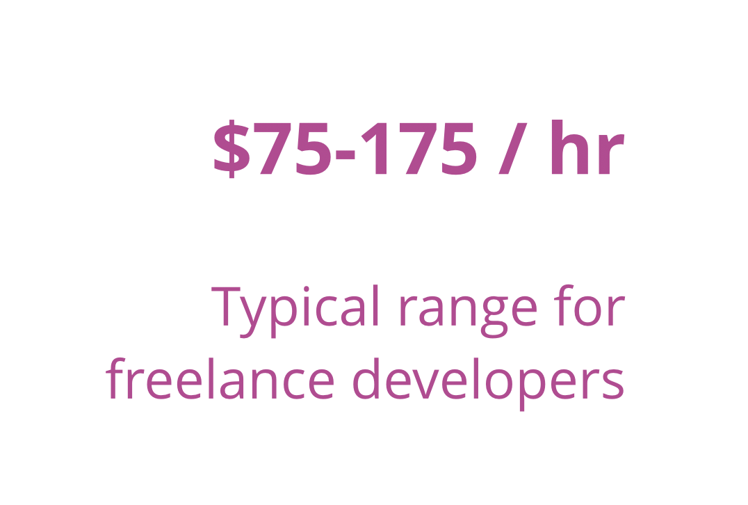 how much should i charge as a freelance developer