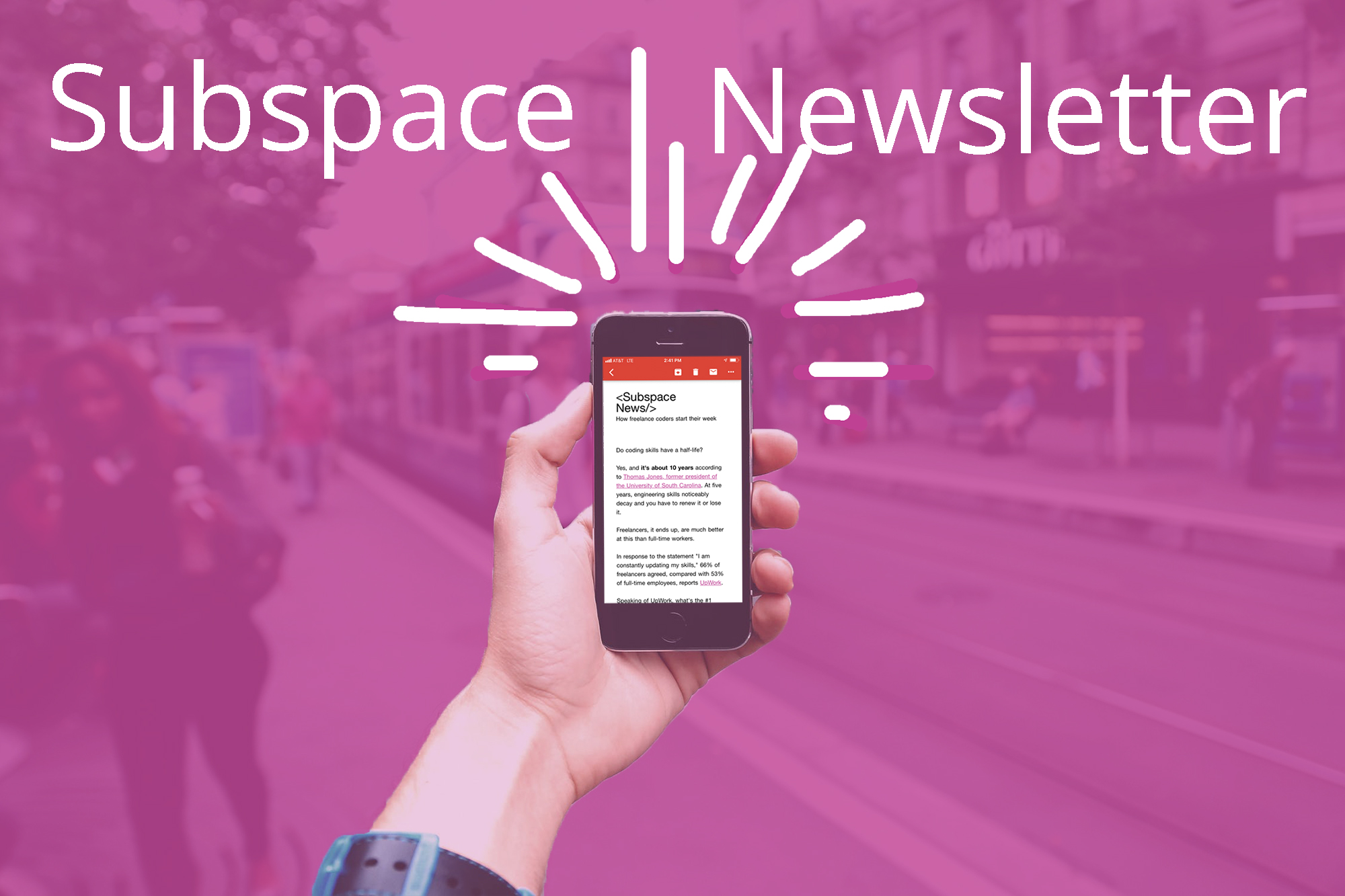 subspace newsletter