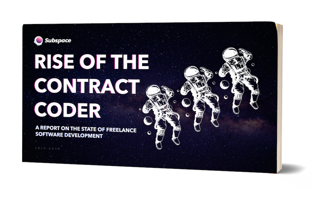 rise of the contract coder subspace freelance software development study