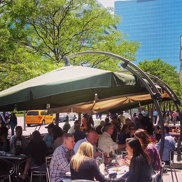 Patio Season is back & the weather feels better than ever! 🌞  Join us for our HAPPY HOUR specials today 4-7pm * * * * #ourpatronsrock #jcupfront #jceats #jerseyfood #irishpubs #goodtimes