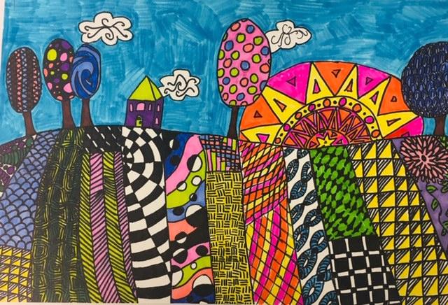 3rd grade student artwork
