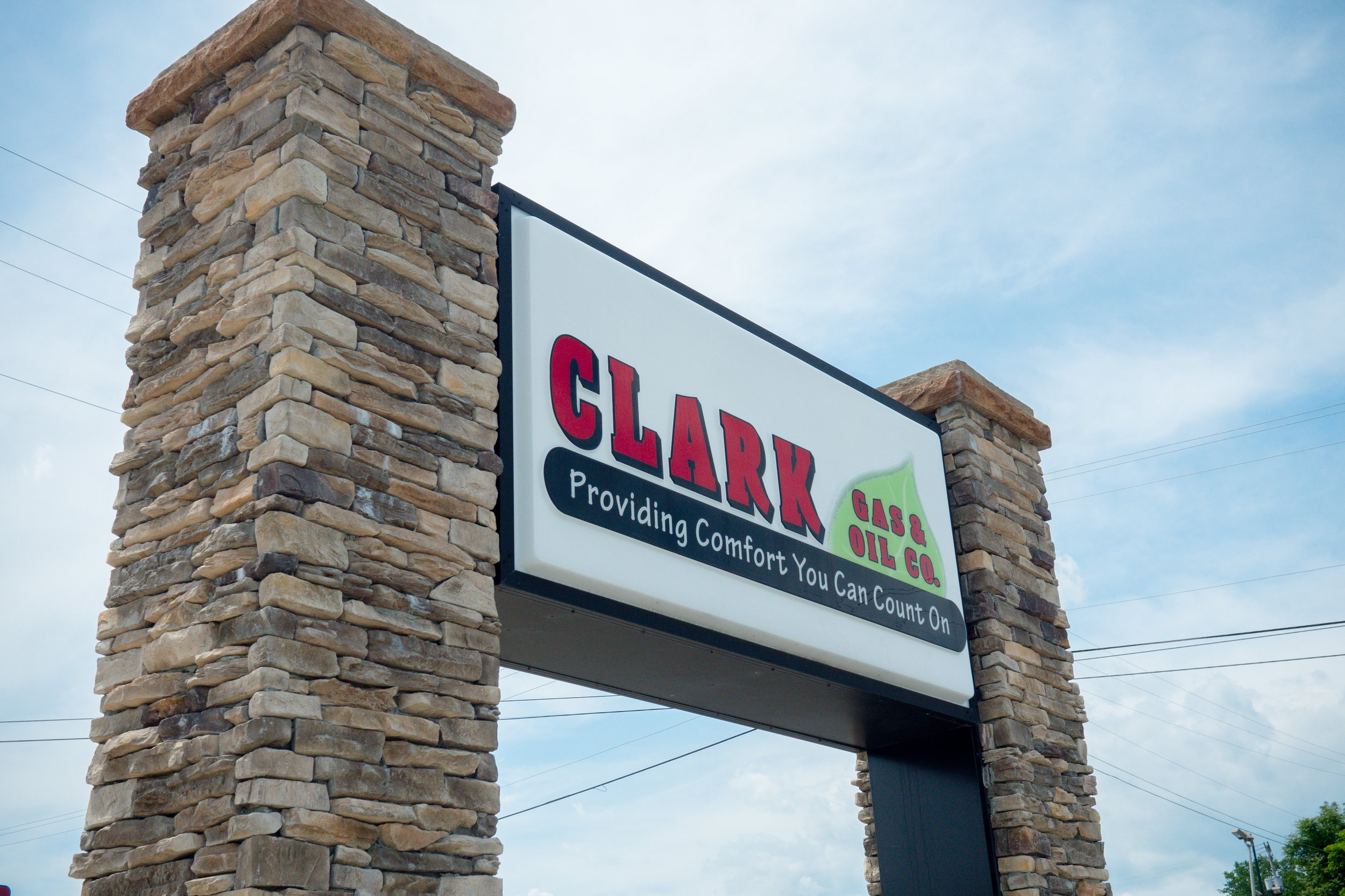 OFFICE LOCATIONS - Clark Gas & Oil has three convenient office locations in Stuart, Floyd and Hillsville, VA. Stop by any location Monday through Friday between 8 am and 5 pm for assistance.We can also be reached TOLL-FREE at