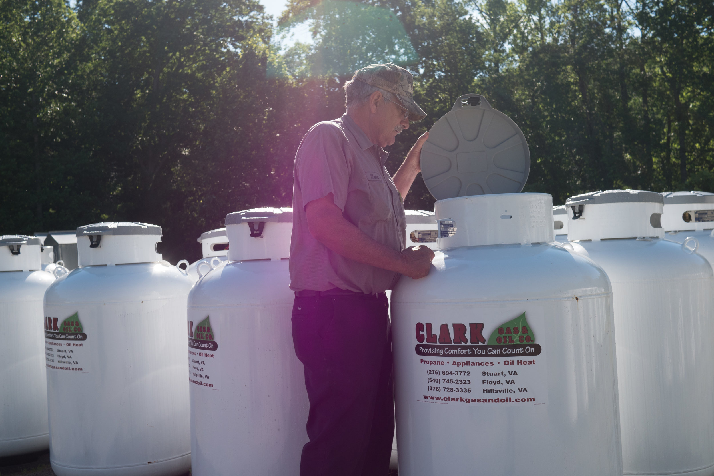 Heating Oil - Clark Gas & Oil is happy to deliver heating oil and kerosene to customers' homes and businesses. We are your family owned provider for residential and commercial heating oil in Patrick, Carroll, Floyd, and Montgomery Counties, and the surrounding area.
