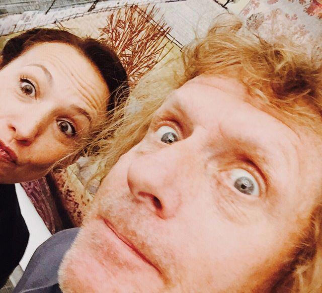 "Here pulling faces with Turner Prize winner, Royal Academician and arguably most talented British contemporary artist of his generation, Grayson Perry CBE, at a private tour of his exhibition two years ago at the Serpentine Gallery. Occasionally known as ""Claire"", his transgender alter ego, his outspoken, unique, ultra creative persona perfectly illustrates this quote by Thomas Moore celebrating individuality: ""When we allow ourselves to exist truly and fully, we sting the world with our vision and challenge it with our own ways of being."" In other words, be yourself and dare to be different, it's the only way to really exist. . ———————————— www.thegoodhedonist.com ———————————— . . .  #holisticwellness #thomasmoore #mindfulliving #lifestylecoaching #lifecoaching #holisticlifestyle #mindbodygram #mindfulness #portfoliocareer #liveinspired #londonlifecoach #mindset #thegoodhedonist #lifewelllived #alifewelllived #carpediem #colourfullife #liveinthemoment #beyourself #personalgrowth #creativechics #organicwellness #positivethinking #knowledgequote #inspirationalquotes #inspirationalmen #ipreview via @preview.app"