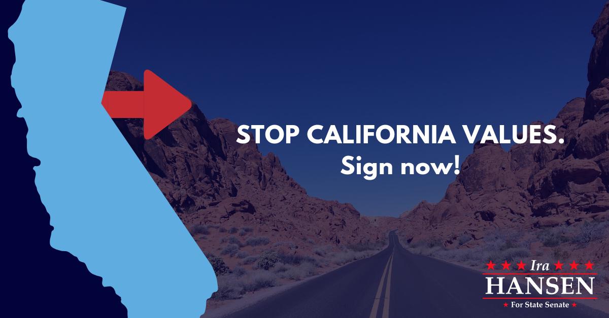 Stop California Values