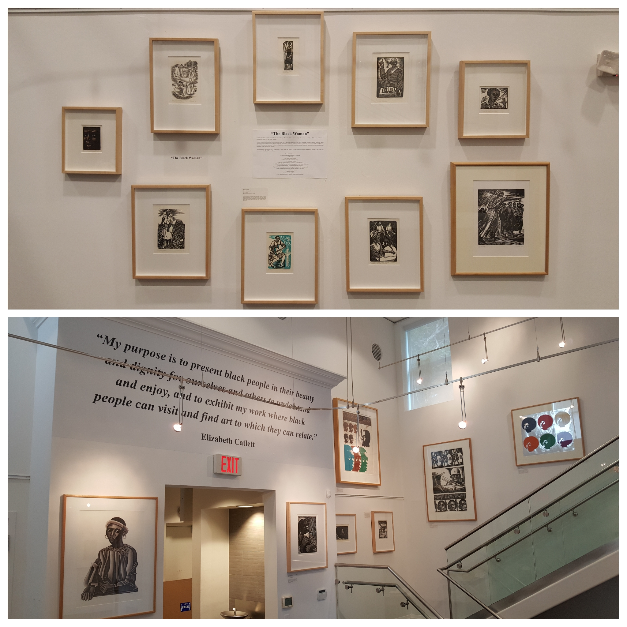 Elizabeth Catlett and the Hampton Arts Tradition  (Art Basel/Miami Art Week 2018)   Elizabeth Catlett and the Black Woman's Contribution to American Democracy  (Black History Month and Woman's Month 2019)