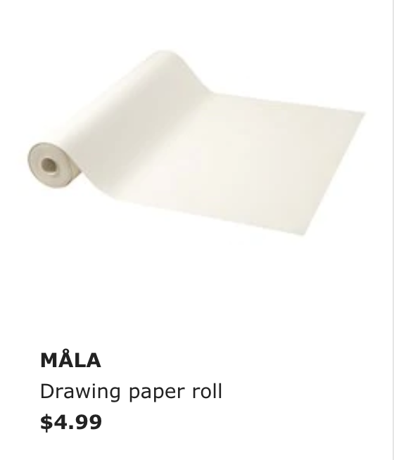 - This is the paper that goes with the roll above, but you don't need the holder to get a good deal on a nice quality roll of paper.