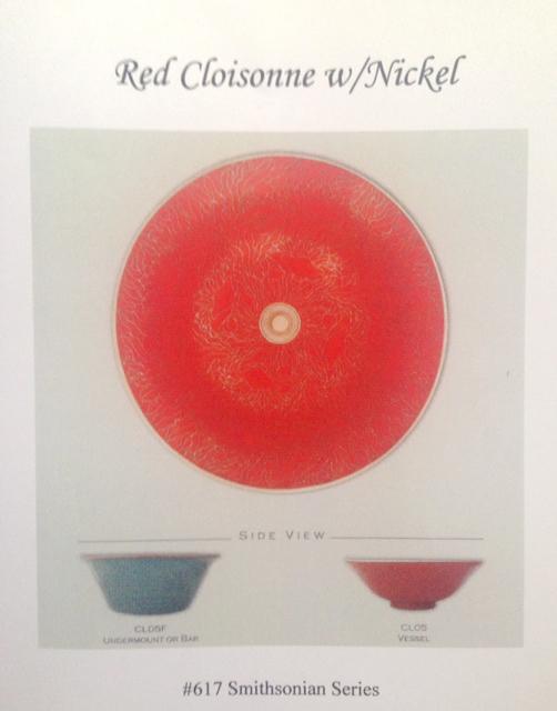 Cloisonne Round basin red  glaze inside with Teal enamel exterior detail as shown @ LEFT.jpg