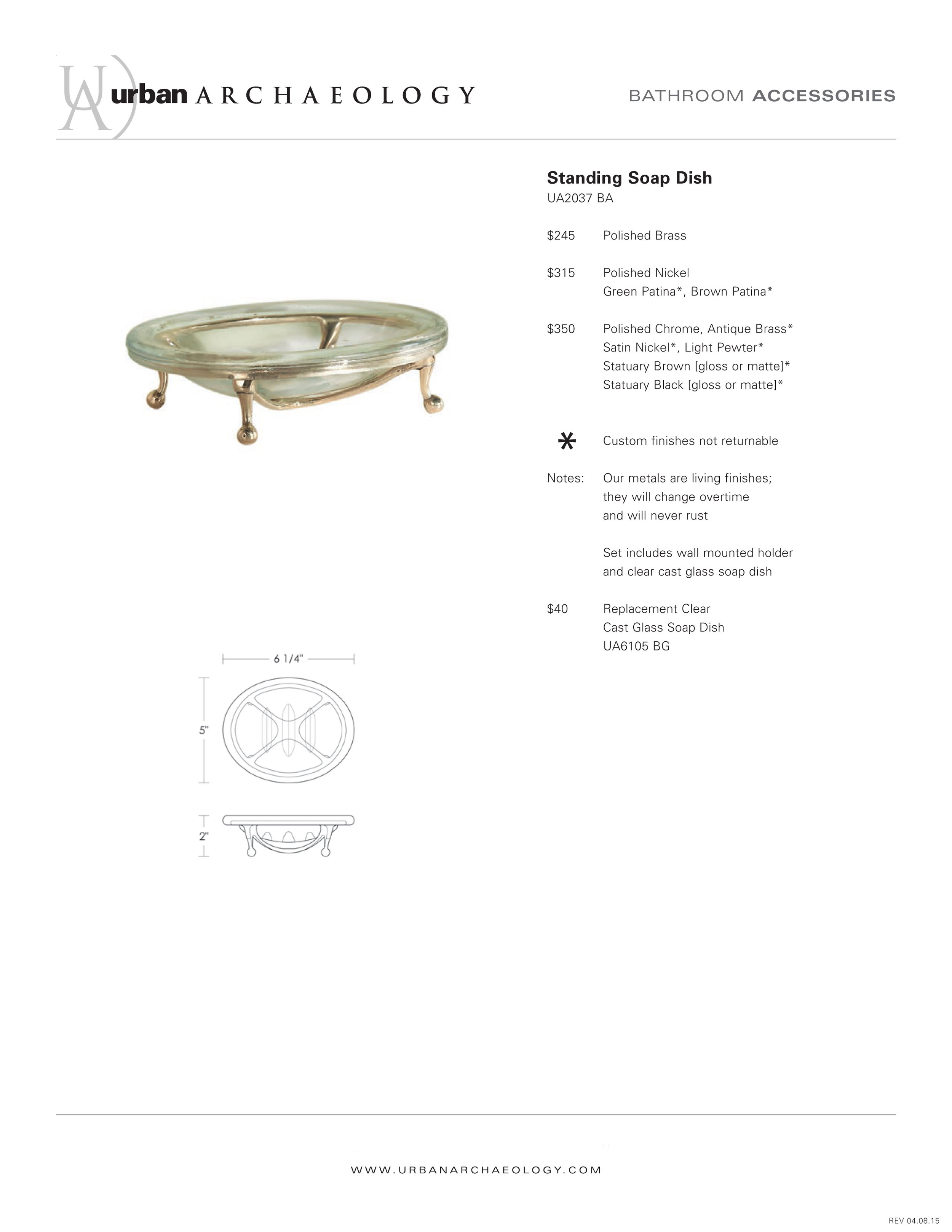 UA Standing footed soap dish spec sheet.jpg