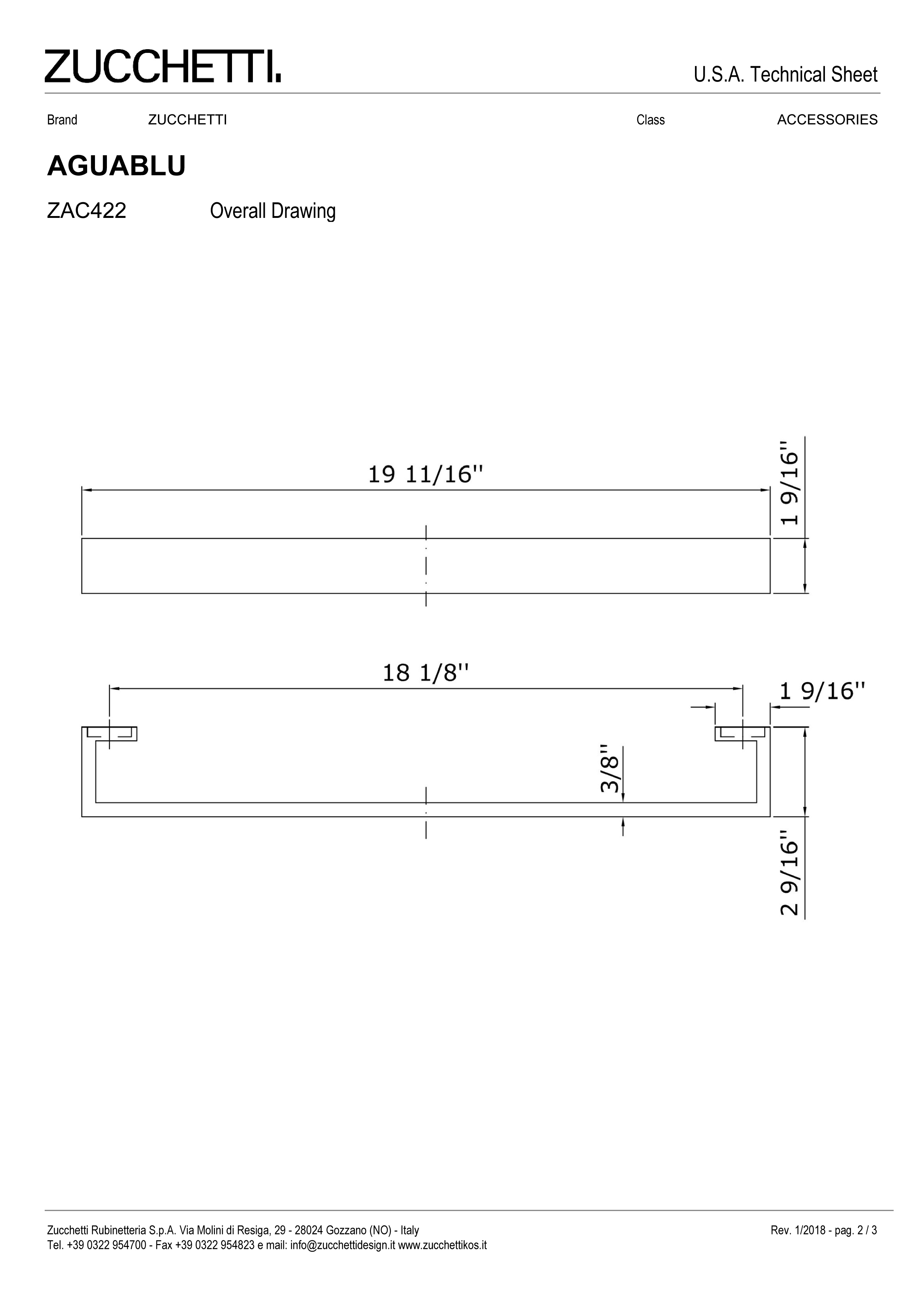 Zuchetti Aquablu towel rail, 50 w x 6,5 projection x 4cm tall, PC, BN-2.jpg
