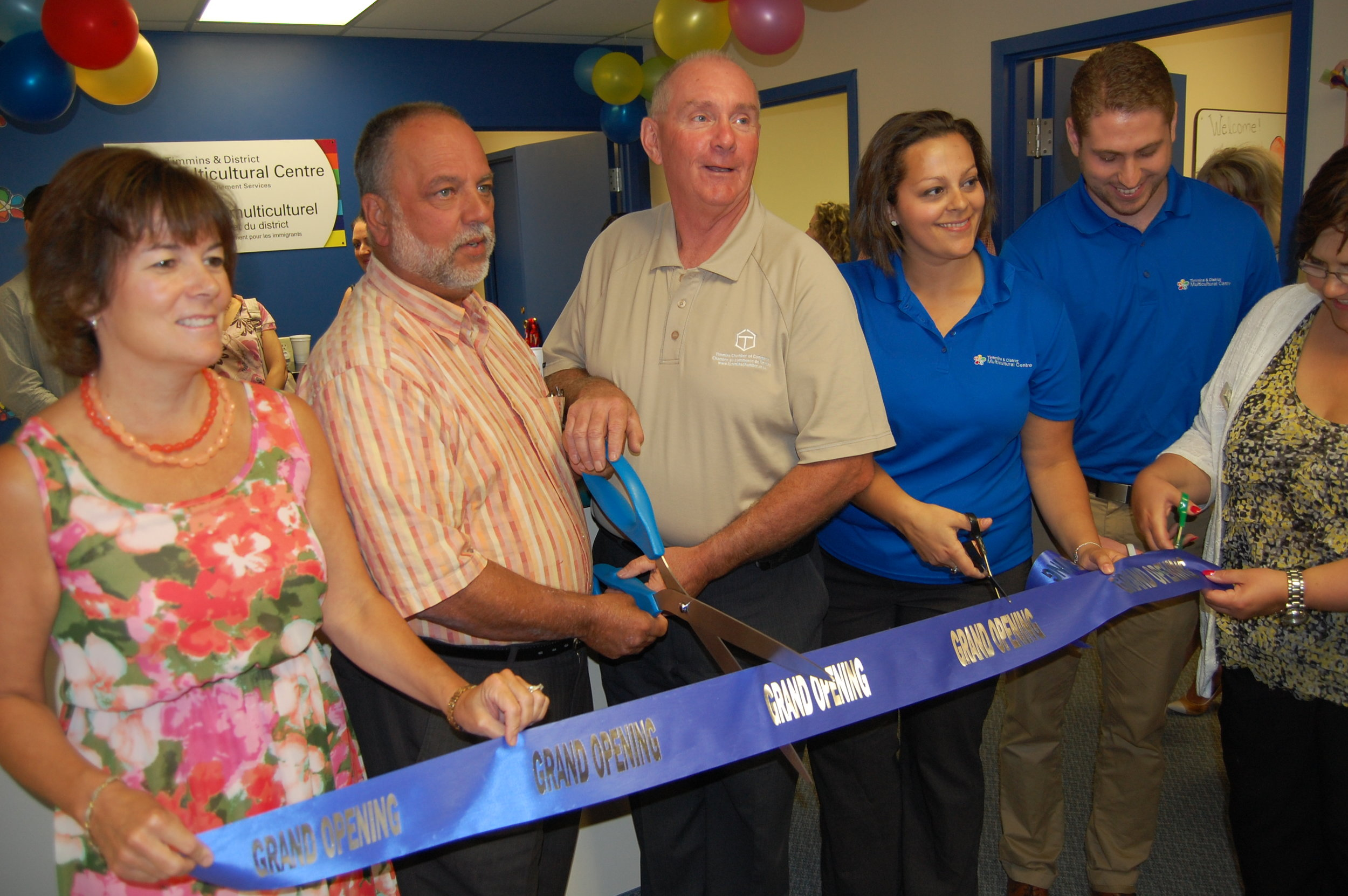 Grand opening at our second and current location, 119 Pine Street South, Suite 10.