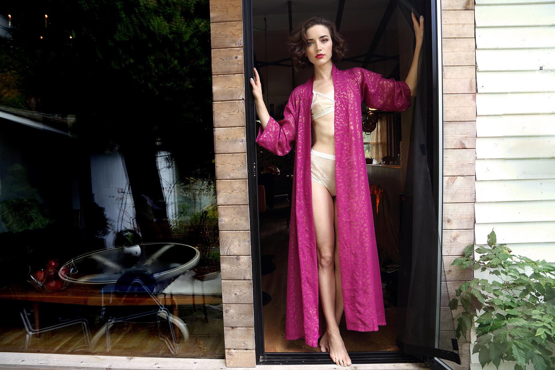 holiday-14-bts-lingerie-lookbook-raspberry-pink-gold-robe-porch-2.jpg