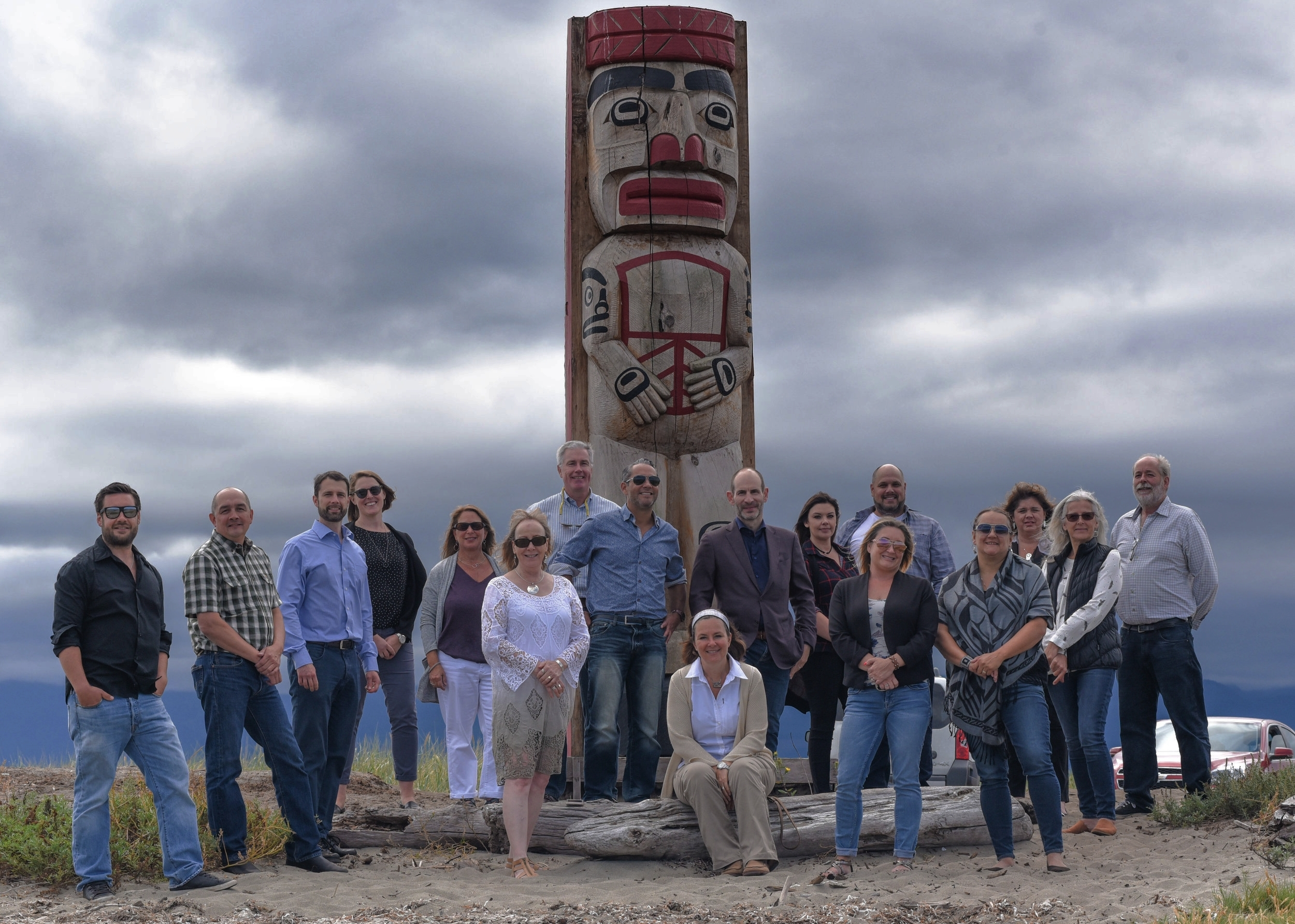 """""""We highly respect and value our relationships with First Nations across Vancouver Island and the BC Coast."""" - Jeff Zweig, President and CEO of Mosaic"""