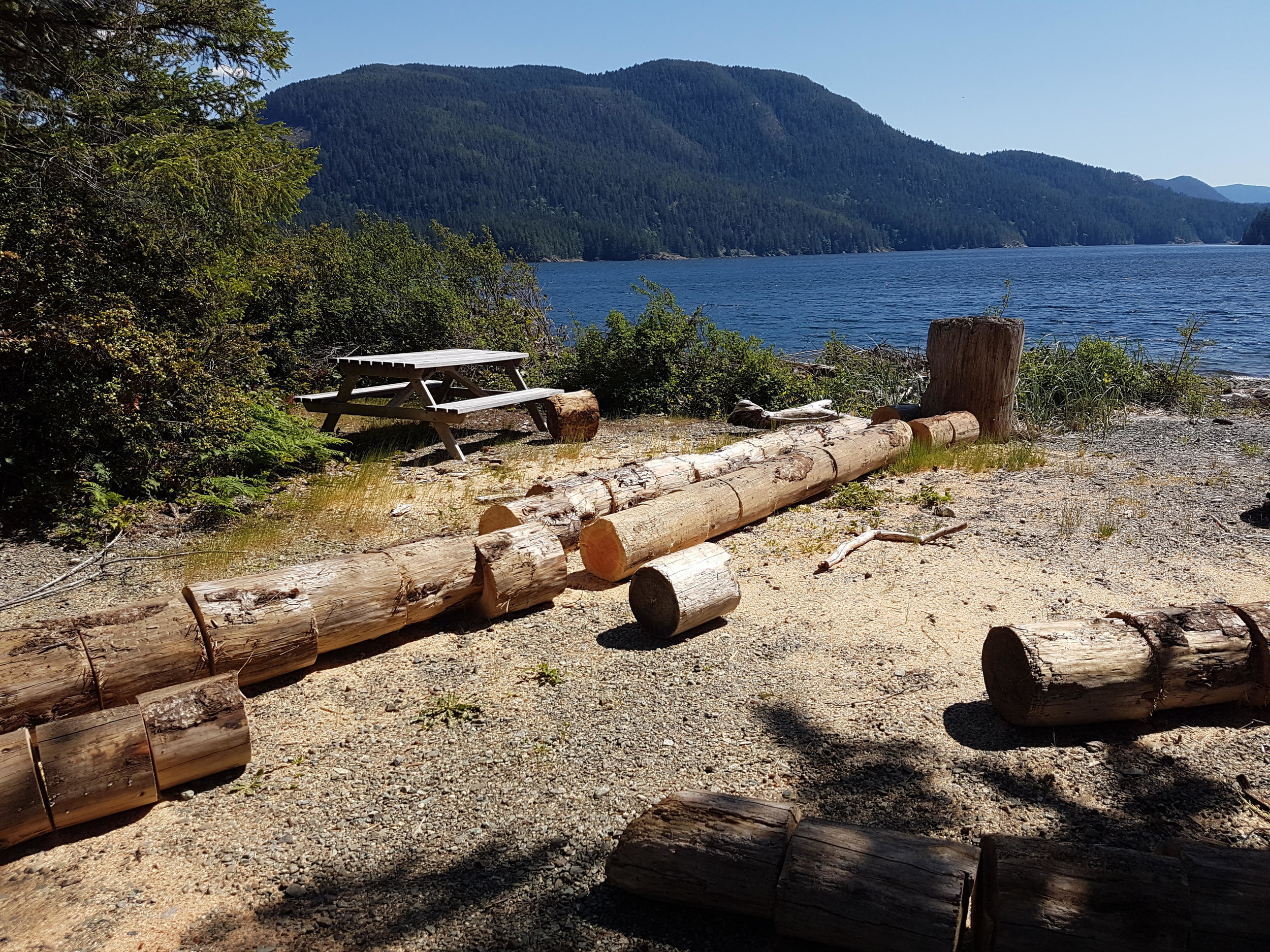 Now Open: Macktush Campsite - 80 campsites on the north shore of the Alberni Inlet with a playground and fantastic boating, fishing, and windsurfing opportunities.Book now