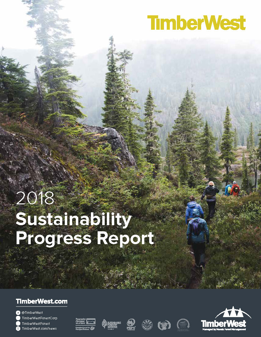 TimberWest 2018 Sustainability Report -
