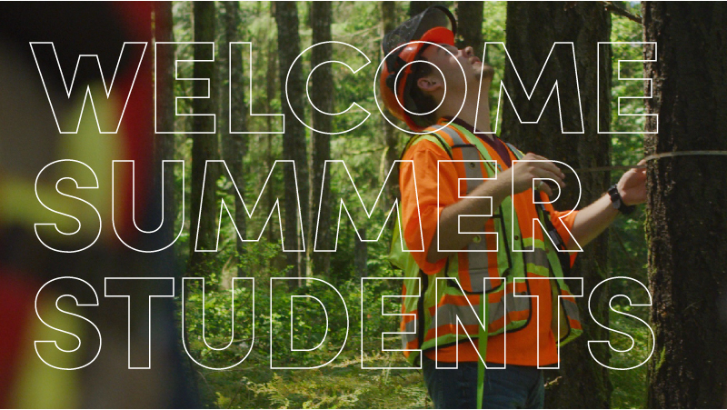WELCOME TO OUR 2019 SUMMER STUDENTS!  You can learn more about Project Learning Tree, including an incredible cross-country tour on wooden bike to raise awareness of green jobs, on their website,  www.pltcanada.org .