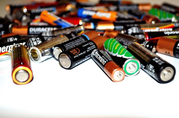 Pile of Batteries