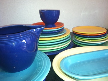 Colorful Ceramic Dishes