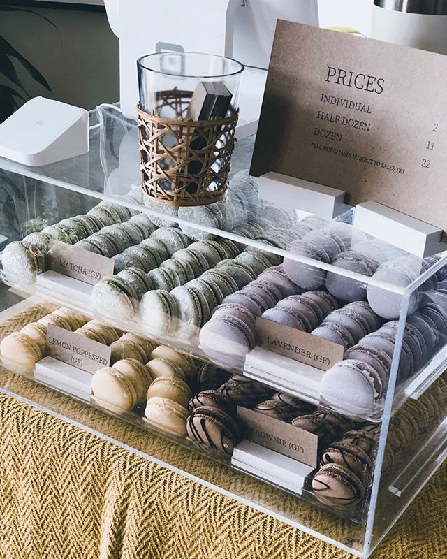 We had a full house this morning 🌿💛 Yoga + @thistlesweetstn Macarons!  Thank you Alie for taking the time to do a pop-up shop this morning, and to all of those who came to class and bought goodies afterwards.  We love supporting YOU and supporting the Clarksville COMMUNITY! 🌿 #YogaMat #BeHereBeHome #WomenEmpoweringWomen #SupportSmallBusinesses #Macarons