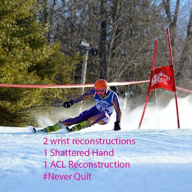 #neverquit #goals #athlete #skiing #skiracing