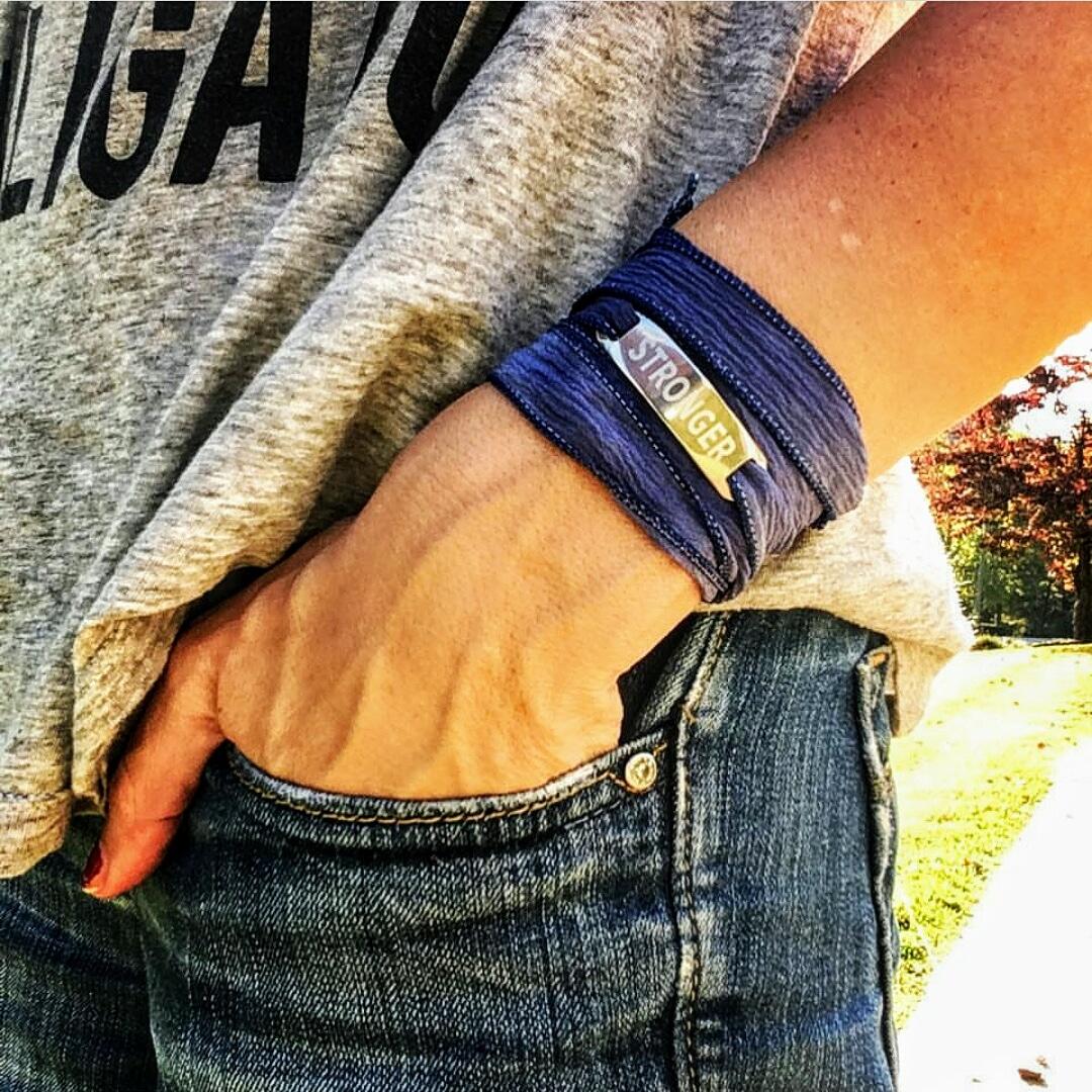 The STRONGER Yoga Bracelet