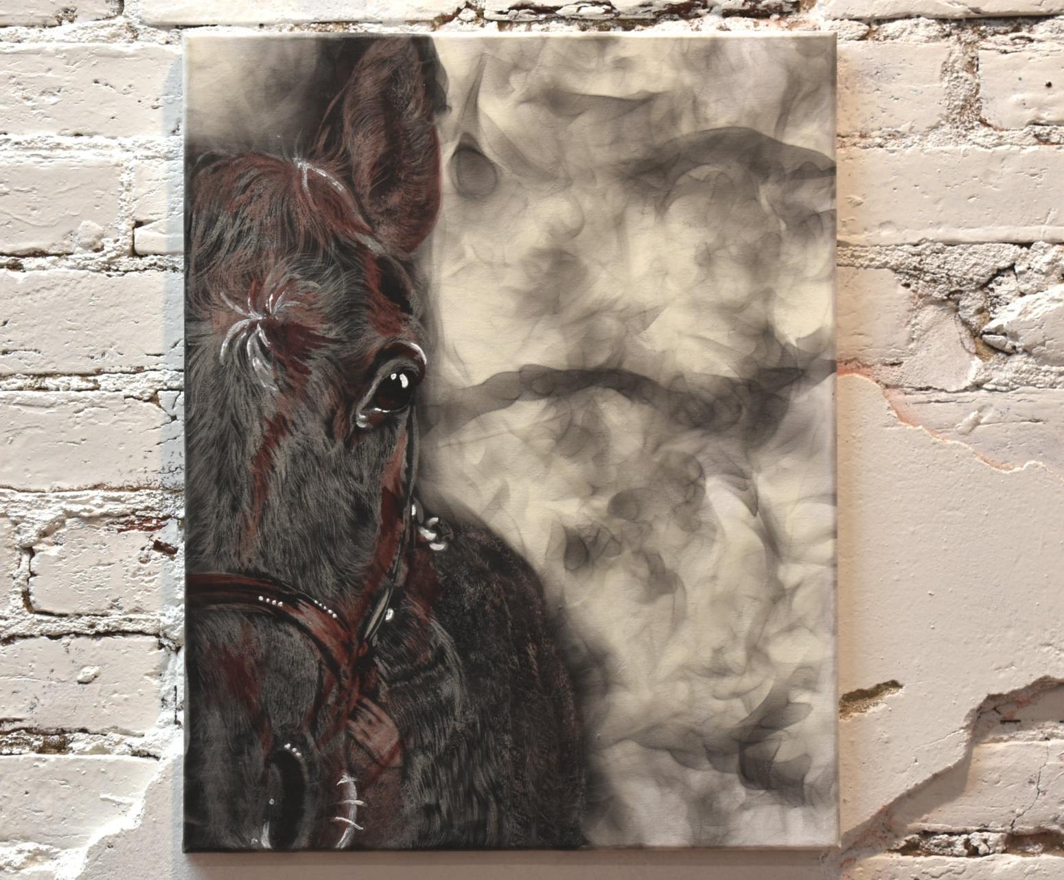 FUMAGE - SMOKE ART -
