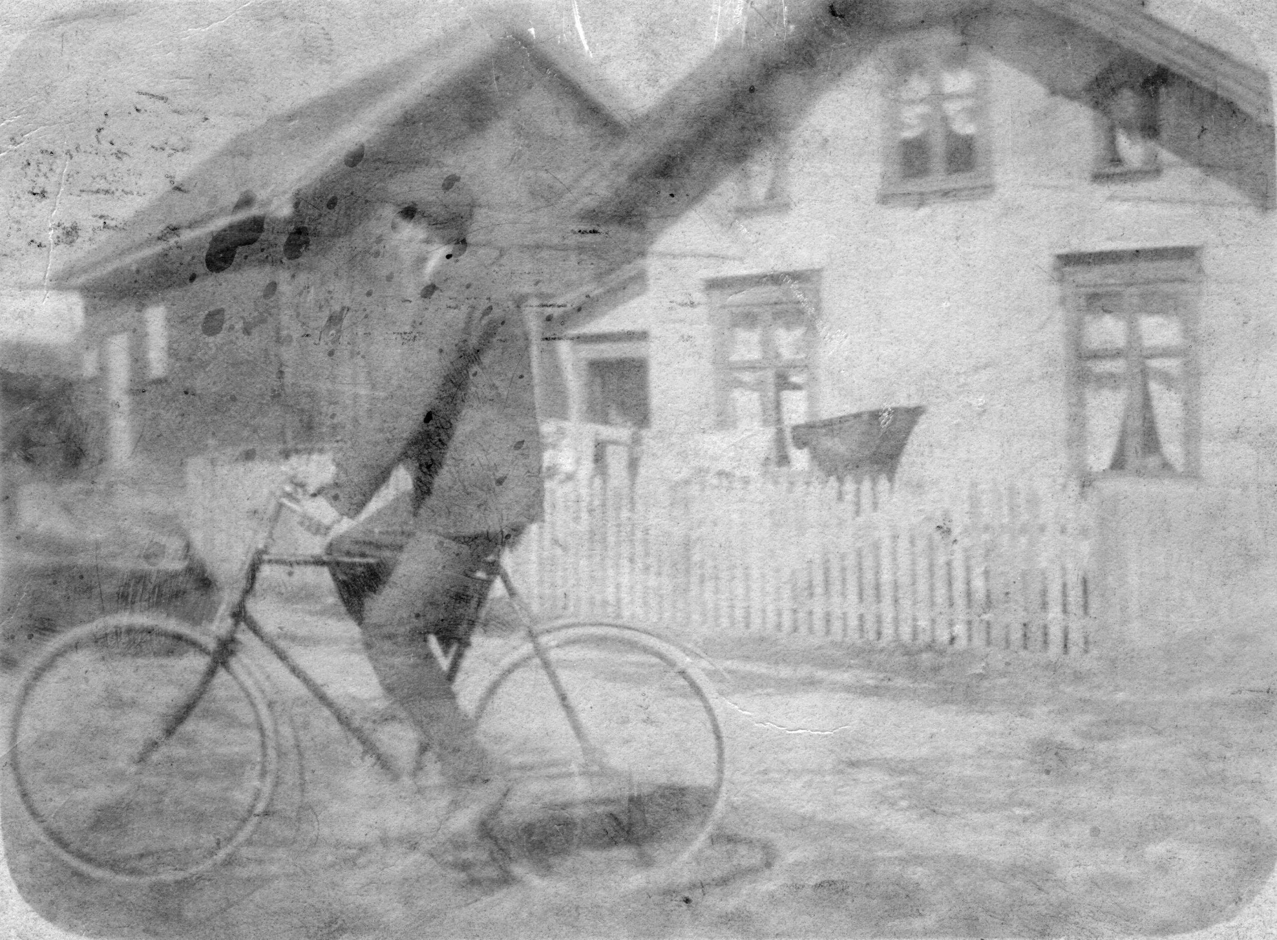 Bakken fra SV (kort sendt 1905).JPG