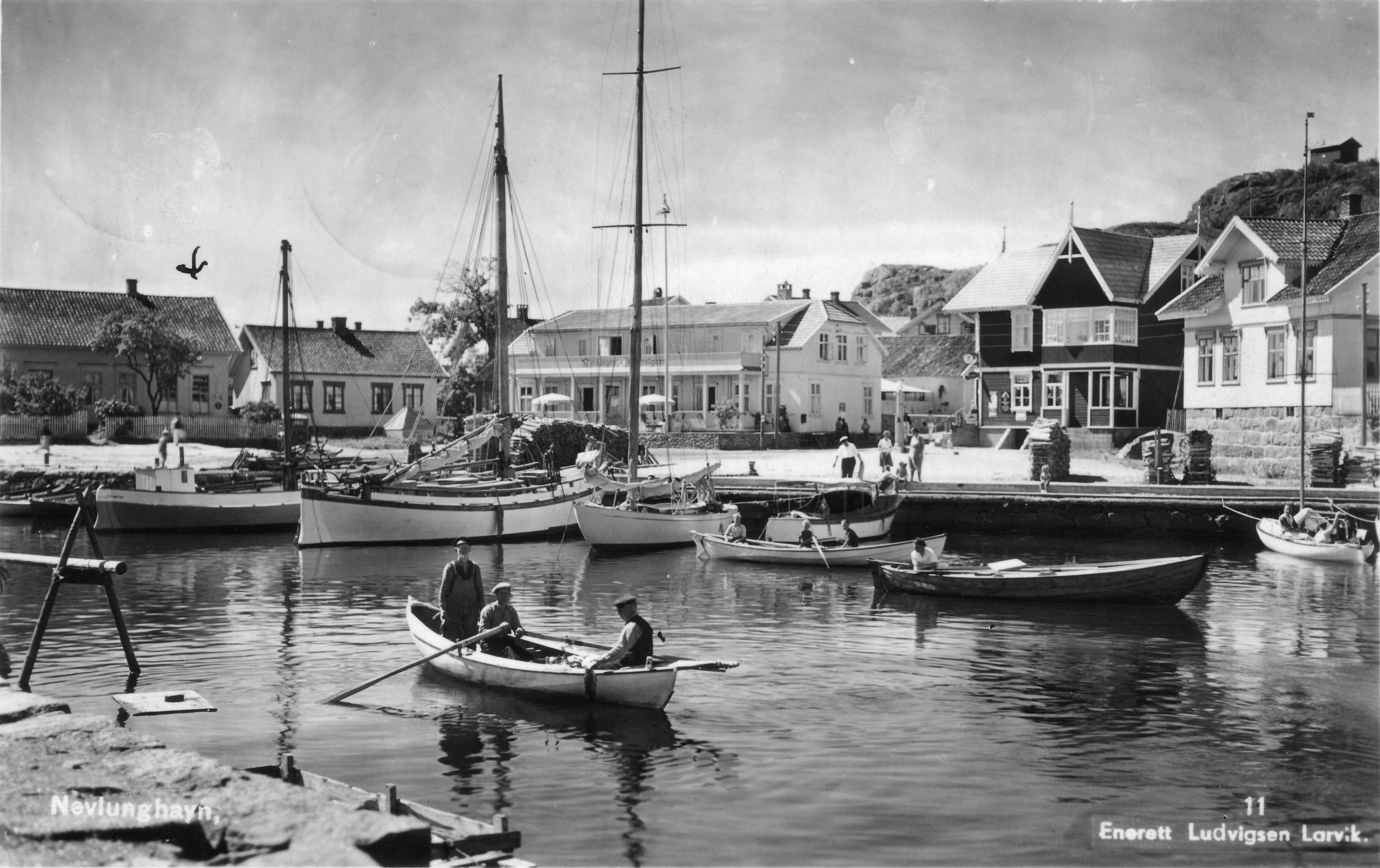 Brygga fra NØ (kort sendt 1936).JPG