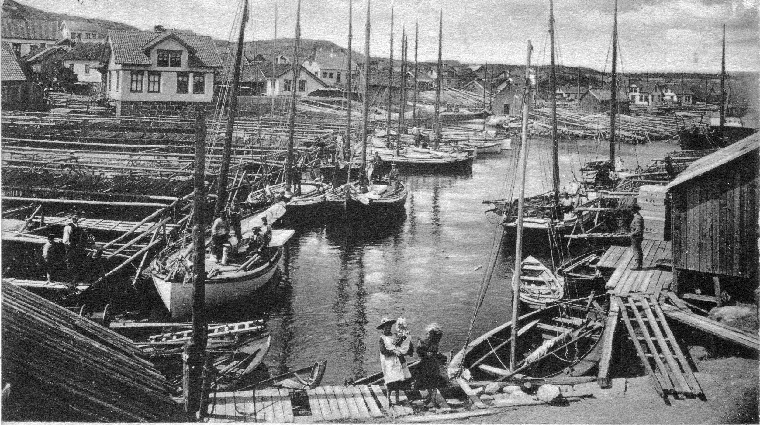 Brygga fra S (kort sendt 1907).JPG