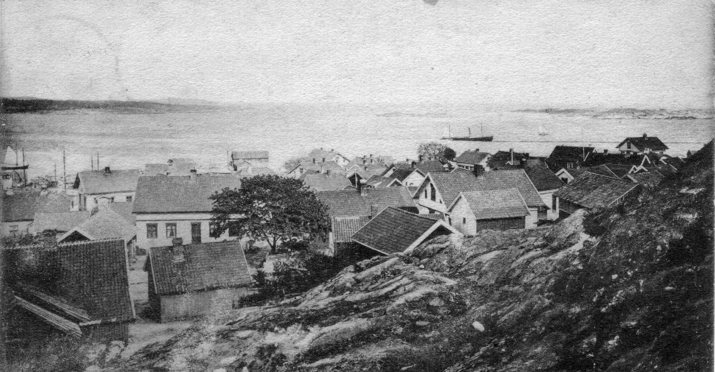 Havna fra V (kort sendt 1905).JPG