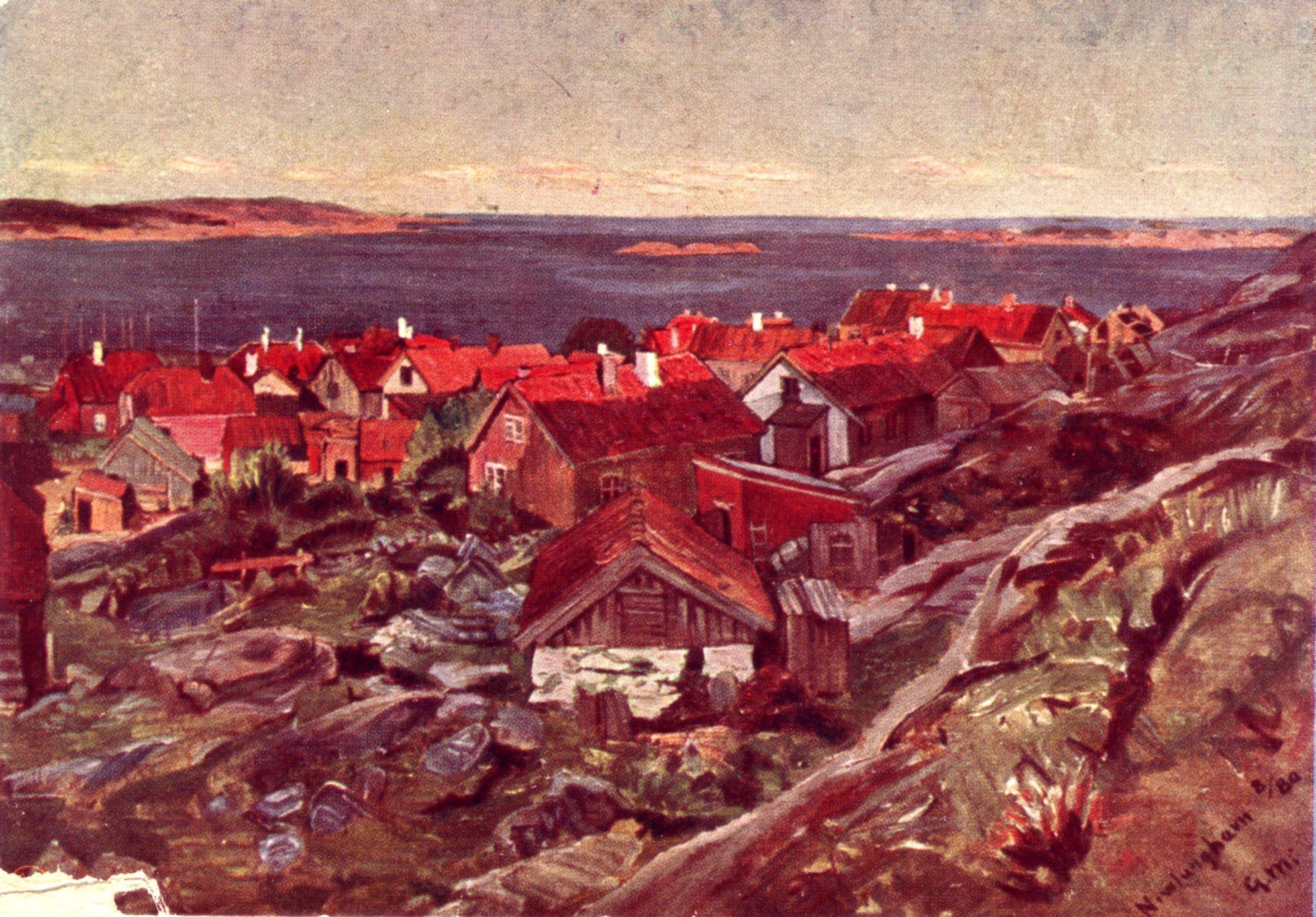 Havna fra V 1880 (kort).JPG