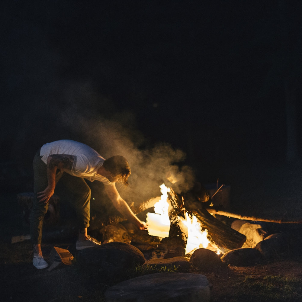 BONFIRES & S'MORES  | It's like a religion around here.