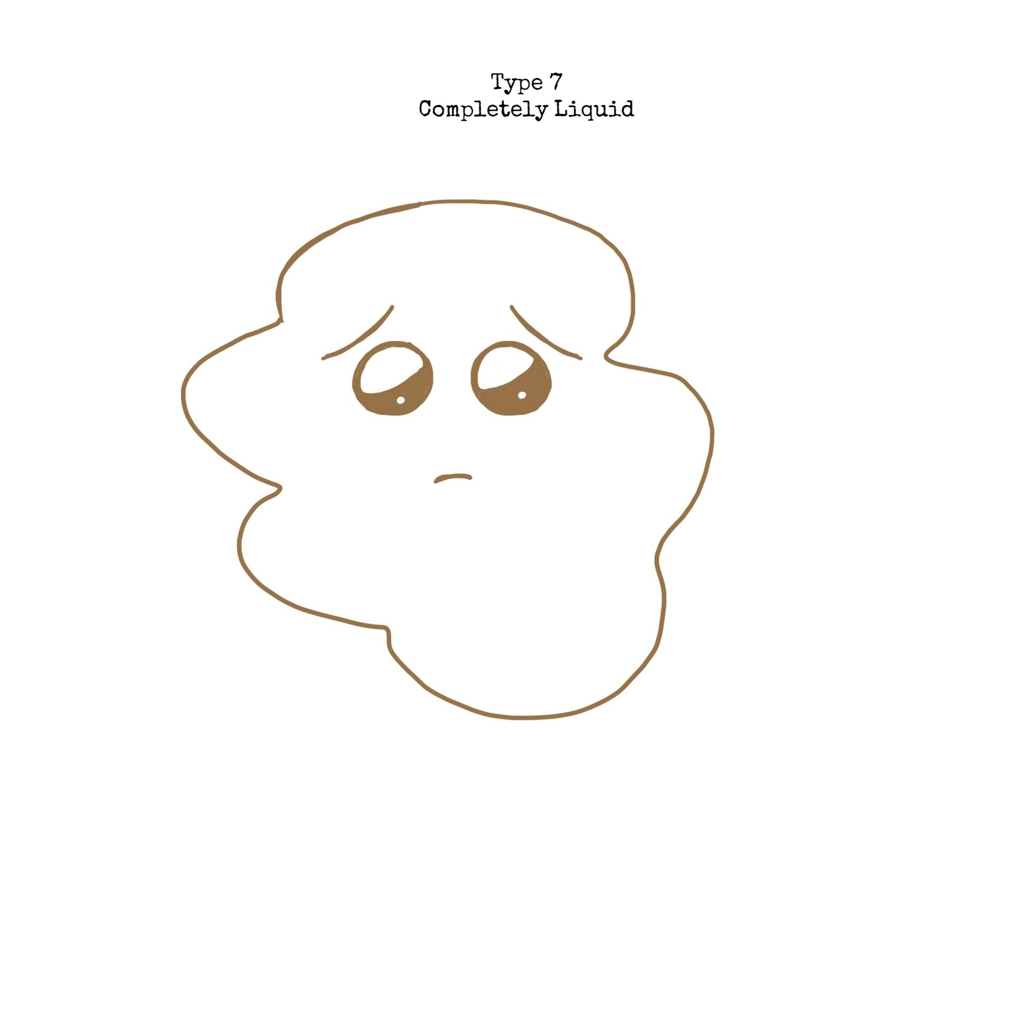 Type 7 - Entirely Liquid