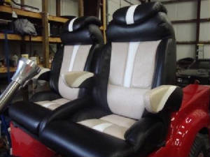 Custom Bucket Seats & Seat Covers