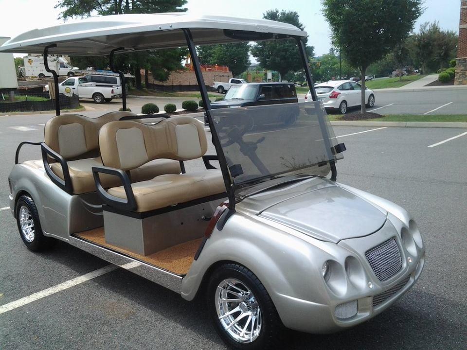 Bentley Limo Cart
