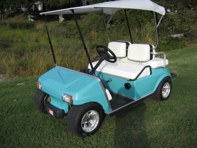 Tropical Turquoise Convertible Cart