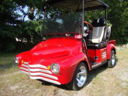 1948 Chevy Golf Cart